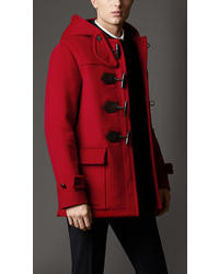 Red Duffle Coats for Men | Men's Fashion