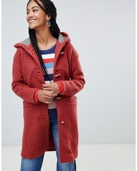 Esprit Hooded Toggle Coat With