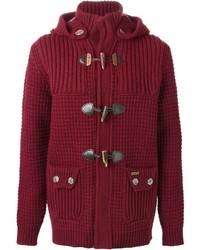 Knitted duffle coat medium 383713