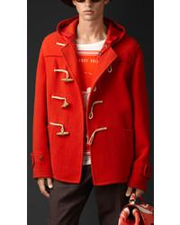 Prorsum double cashmere wool duffle jacket medium 212115