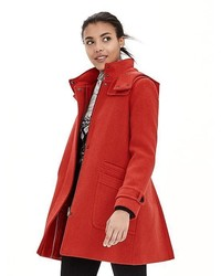 443df437d0 No Brand Red Duffle Coat Out of stock · Banana Republic Sloan Fit And Flare  Dress