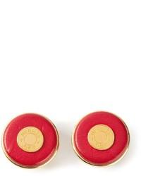 Hermes Herms Vintage Clip On Earrings