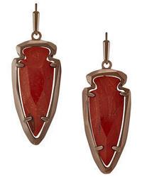Kendra Scott Katelyn Arrowhead Drop Earrings