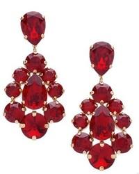 L Erickson Flora Chandelier Earrings