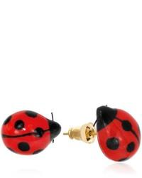 Nach Mini Ladybug Earrings