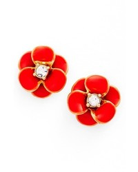 New york shine on flower stud earrings medium 3723333
