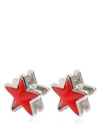Givenchy Perspex Metal Star Earrings