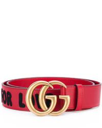 Gucci Gg Embellished Belt