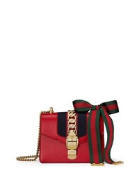 Gucci Mini Sylvie Leather Shoulder Bag