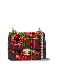 Ermanno Scervino Scottish Check Chain Bag
