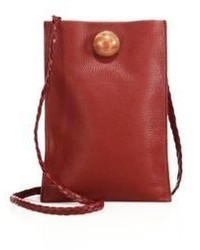 The Row Embellished Leather Medicine Pouch
