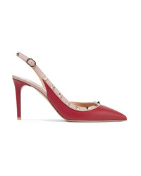 Valentino Garavani The Leather Slingback Pumps