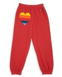 Aviator Nation Toddlers Little Girls Girls Applique Sweatpants