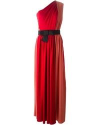 Lanvin One Shoulder Evening Gown