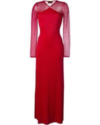 Missoni Sheer Sleeves Gown