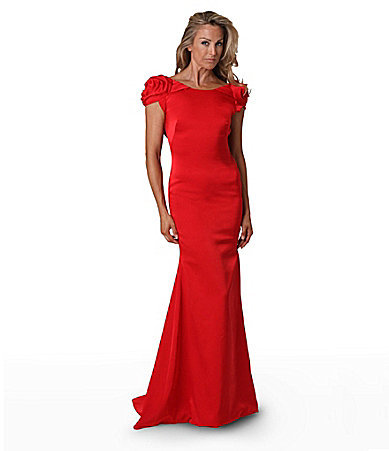 JS Collections Red Carpet Cowl Back Gown | Where to buy & how to wear