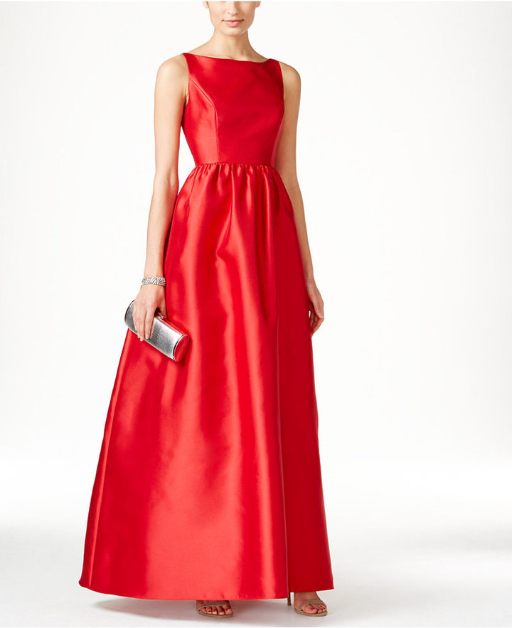 Adrianna Papell Sleeveless Ball Gown | Where to buy & how to wear