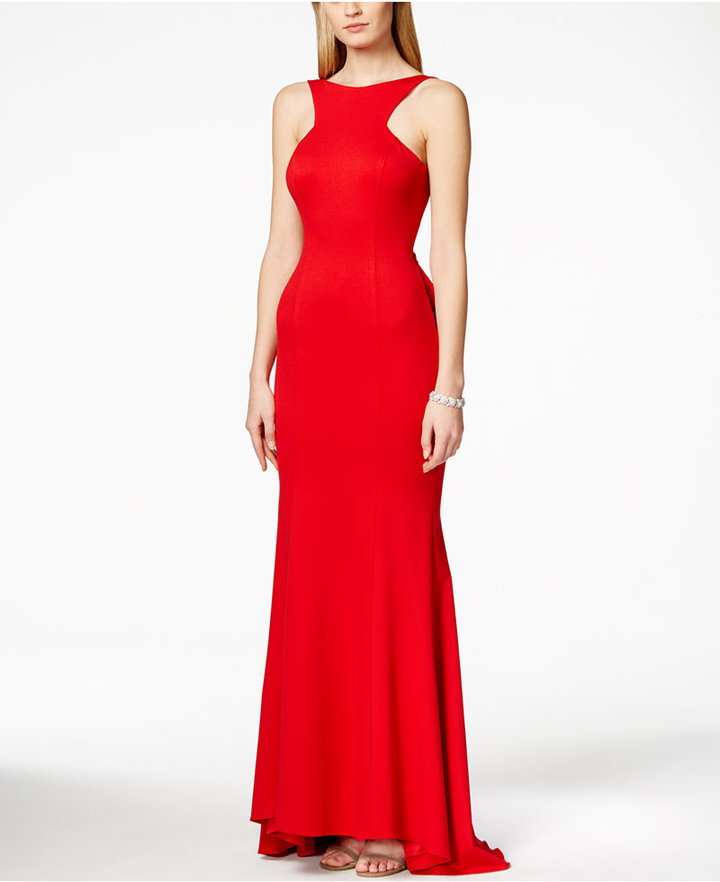 Xscape Evenings Xscape Open Back Ruffled Gown | Where to buy & how ...