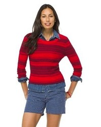 Merona Fair Isle Crew Neck Pullover Sweater