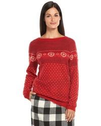 Woolrich Fairisle Crewneck Sweater