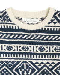 ... H M Jacquard Knit Sweater Red 145438578