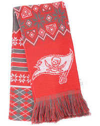Forever Collectibles Tampa Bay Buccaneers Christmas Sweater Scarf