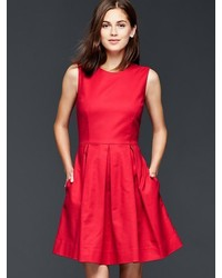 Gap Classic Fit Flare Dress