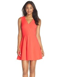 Nordstrom Felicity Coco Back Cutout Fit Flare Dress