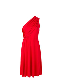 Lanvin One Shoulder Draped Dress