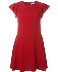 RED Valentino Shortsleeved Flared Dress