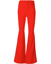 Red flare pants original 11347722