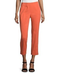 Lafayette 148 New York Stanton Cropped Pants Flare