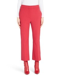 Fendi Stretch Drill Crop Flare Pants