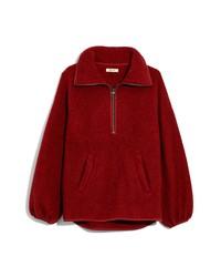 Madewell Recycled Polartec Fleece Pullover Jacket
