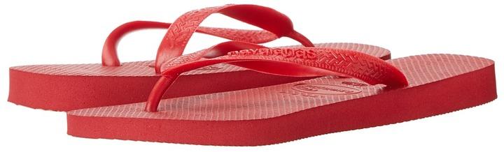 7431c3cac ... Red Flip Flops Havaianas Top Flip Flops Sandals ...