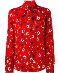 Marc Jacobs Floral Print Blouse