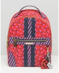 Coated canvas odessa floral backpack medium 968822