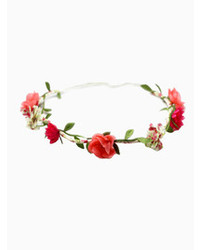 Choies Red Flower Hair Garland