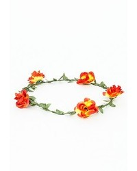 Missguided Lampke Red Floral Garland