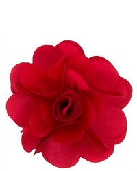 Dapper World Red Rose Flower Lapel Pin