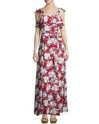 Petro floral print a line maxi dress celine medium 754313