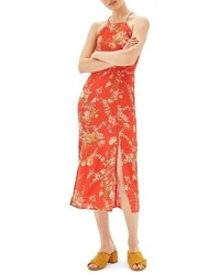 Eastern floral midi dress medium 3723109