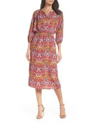 Fraiche by J Floral Blouson Dress