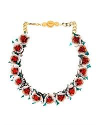 Daisy crystal necklace medium 279436