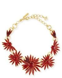 Floral resin station necklace medium 5147052