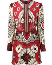 Valentino Floral Print Playsuit