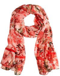 Brooks brothers watercolor floral oblong medium 117463
