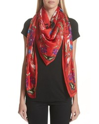 Alexander McQueen Mythical Creature Silk Shawl