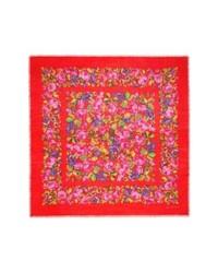 Gucci Raquel Floral Silk Wool Shawl