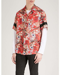 Represent Floral Print Regular Fit Woven Shirt